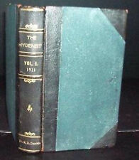 1911 Health & Hygiene Jnl Bound Volume by Denver MD, Medicine
