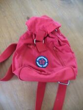 Little red quality Disney Paris back pack with adjustable straps and velcro fast