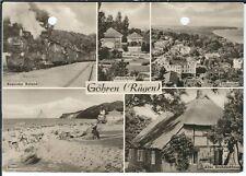 Cartolina Esparma-Spiaggia, concerto di spazio, paglia tetto casa, molto rapidamente Roland S/W