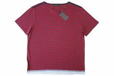 New With Tags NWT 100% Cotton PRADA Mens T Shirt Basic Tee Size 3XL XXXL