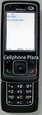 Nokia 6288 RM-78 - Black Unlocked Used