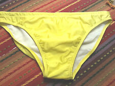 Speedo Men's Swimsuit Bikini Sexy Yellow  - Fully linded - Size GB40/101cm