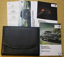 GENUINE BMW X5 HANDBOOK NAVIGATION OWNERS MANUAL 2013-2016 PACK 7281