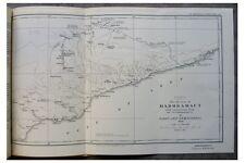 1931 Cochrane  HADHRAMAUT  Reconnaissance Mission- COLOR MAP  Photos  ARABIA  -3