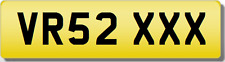 VR VRS 2 XXX SEXY  Private CHERISHED Registration Number Plate