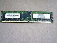 ATP 1GB DDR2 PC3200 DIMM 240 PIN ECC REG AH28K72M4BHC4S Server Memory
