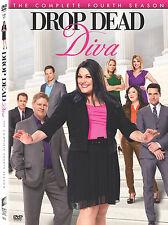 Drop Dead Diva .. The Complete Season 4 .. Four .. Staffel .. 3 DVD . NEU . OVP