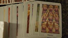 "Vtg Aleister Crowley Thoth Tarot 78 Cards Deck 1986 AG Muller 2 3/4""  x 4 3/8"""
