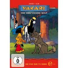 YAKARI - DVD ZUR TV-SERIE: 17, DER VERSTOßENE WOLF  DVD KINDER SERIE NEU