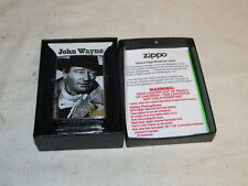 2007 ZIPPO Lighter JOHN WAYNE The Duke NIB J359