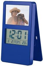 i-gadgets Digital Photo Frame Clock (Blue)