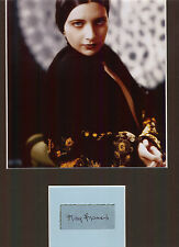 KAY FRANCIS BEAUTIFUL ACTRESS AUTHENTIC SIGNED AUTOGRAPH DISPLAY UACC SCARCE