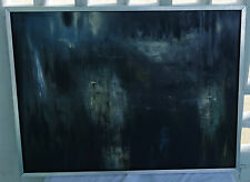 VINTAGE ORIGINAL OIL on Board ABSTRACT EXPRESSIONISM PAINTING SIGNED H Pickering