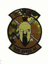 Patch Incursori Task Force 45 Missione Afghanistan Mimetica Vegetata Italiana