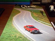 Rolls Royce & Bentley Quest Magazine Issue FIVE / 1986