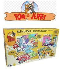 TOM e Jerry attività Pack Puzzle e giochi da tavolo Scuola Kids Fun VIAGGIO NUOVO