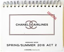 CHANEL CC AIRLINES Look Book Message Mode SPRING/SUMMER 2016 ACT 2