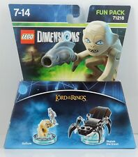 Lego Dimensions Fun Pack HDR Gollum + shelob the Great 71218 nuevo con embalaje original disponible