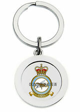 ROYAL AIR FORCE 51 REGIMENT SQUADRON KEY RING (METAL)