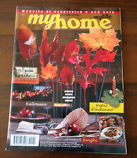 R17  MY HOME - N.3 2012 - HALLOWEEN - FOGLIE D'AUTUNNO