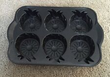 Nordic Ware Pineapple Upside Down Mini Cake Pan (58448) Used Once EUC