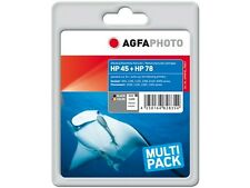 AGFA PHOTO HP SET HP45 + 78 set HP DJ800 ENCRE 1x42ml noir+1x48ml couleur HP78