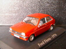 FORD FIESTA MKI 1976 RED RBA COLLECTABLES 1/43 ROSSO ROUGE ROT BLISTER PHASE 1