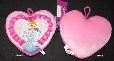 UNIKAT DELUXE Disney Princess Plüsch-Deko-Kuschel-Kissen NEU Prinzessinen 22 cm