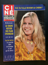 CINE REVUE 1981 N°19 brigitte bardot paul mccartney jim davis