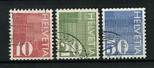 Switzerland 1970 SG#801-3 Coil Stamps Used Set #A70034