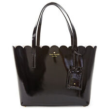 Kate Spade Lily Avenue Patent Leather Small Carrigan Tote - Black