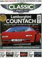 Classic & Sports Car (March 2003) Countach, Saab Sonett, Austin 7, Triumph TRS