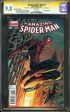 Amazing Spider-Man #1 CGC 9.8 NM/MT SIGNED STAN LEE NEAL ADAMS Marvel Variant