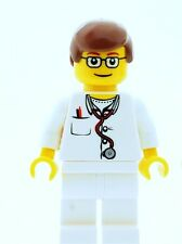 LEGO Male Nurse Doctor Medic Minifigure  NEW Town City