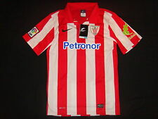 Athletic Club DE BILBAO FOOTBALL SHIRT JERSEY CAMISETA Top Taglia XL TRIKOT NUOVA