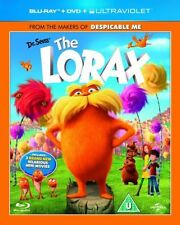 DR SEUSS - THE LORAX - BLU RAY + DVD + UV - NEW / SEALED