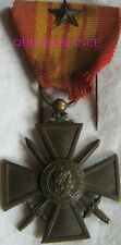 DEC4615 - CROIX DE GUERRE 1939 - FRENCH WAR CROSS MEDAL