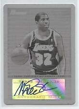 "2009-10 Bowman 48 Printing BLACK PLATE AUTO Earvin ""MAGIC"" Johnson 1/1! LAKERS!"