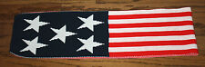 NEW Red, White & Blue USA American Flag Unisex Winter Olympics Thick Scarf