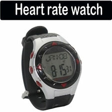 Pulse Heart Rate Monitor Sport Stop Wrist Watch Calorie Counter Black