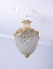 Lámpara de techo rococó figuró cristal lámpara de techo lámpara de Shabby Chic