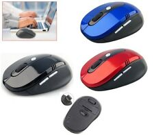 2.4GHZ Wireless Cordless Scroll Optical Mouse Mice With USB Dongle For Laptop PC