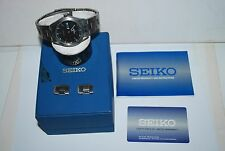Original SEIKO Titanium Watch 7N43-OAC8 Quartz Works Fine Original Box Booklet