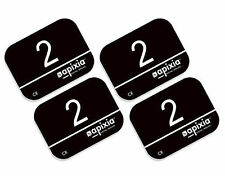 4 Pack Size #0 Apixia Scanner ScanX Air Tech Type X-Ray Phosphor Plates PSP FDA