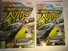 WII WII U NEED FOR SPEED NITRO NINTENDO WII NEED FOR SPEED NITRO WII