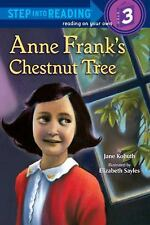 Anne Frank's Chestnut Tree (Step into Reading)-ExLibrary