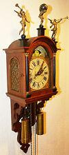 alte holländische Schippertje Friesenuhr Stuhluhr stoelklok  clock Warmink Wuba
