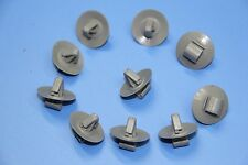 AUDI A4 A6 A8 GREY PLASTIC FASTENERS DOOR SIDE MOULDING LOWER TRIM CLIPS