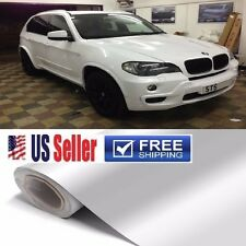 "GLoSSy White Vinyl Wrap Sticker Film Sheet Paint Protector 84""x60"" ""BUBBLE FREE"""