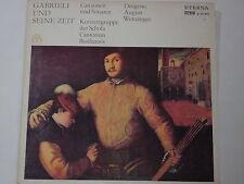 Gabrieli -Cantorum und Sonaten (August Wenzinger)- LP Eterna black